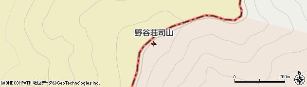 野谷荘司山周辺の地図