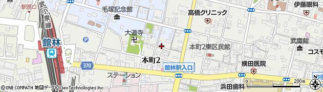 青梅天満宮周辺の地図