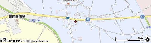 松本輪店周辺の地図