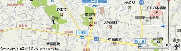 平六稲荷周辺の地図