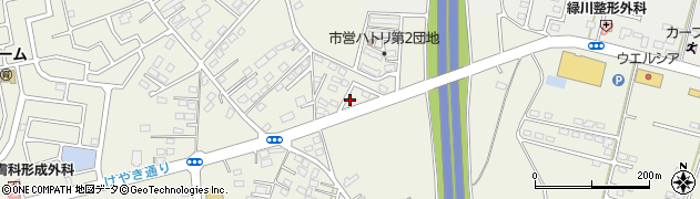 アスカ美容室周辺の地図