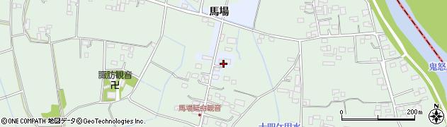 茨城県結城市馬場周辺の地図