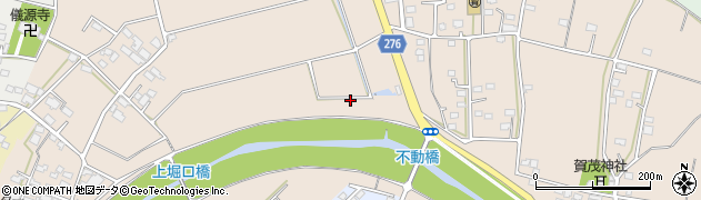群馬県太田市堀口町周辺の地図