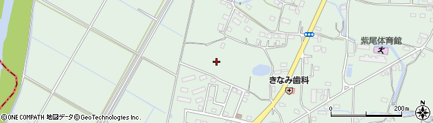 茨城県桜川市真壁町椎尾周辺の地図