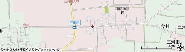 長野県佐久市三河田周辺の地図