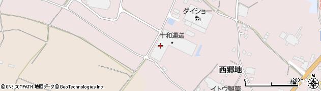 十和運送株式会社 石岡支店周辺の地図
