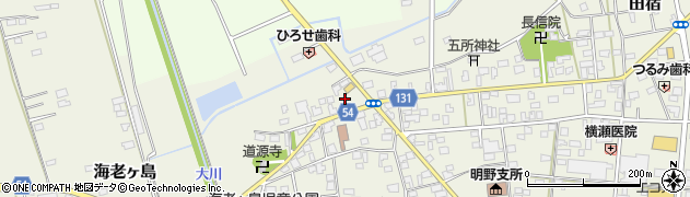 マルカンの店周辺の地図