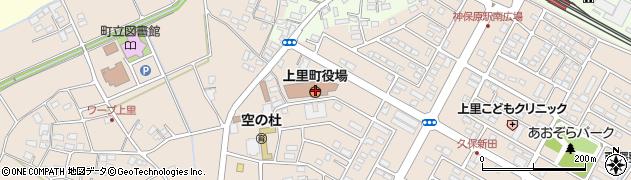 埼玉県児玉郡上里町周辺の地図