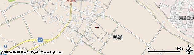 長野県佐久市鳴瀬周辺の地図