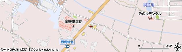 トヨタカローラ新茨城株式会社 中古車業販卸センター周辺の地図