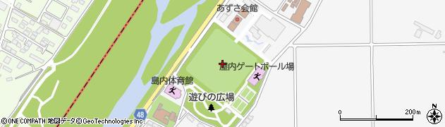 長野県松本市島内(島高松)周辺の地図