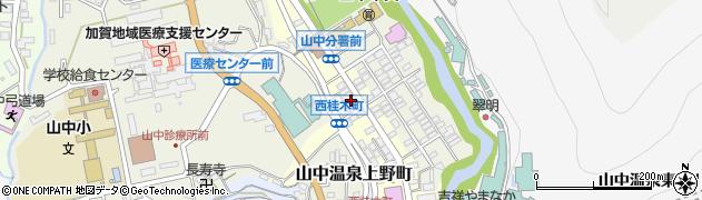 石川県加賀市山中温泉西桂木町(ヌ)周辺の地図