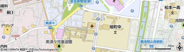長野県松本市美須々周辺の地図