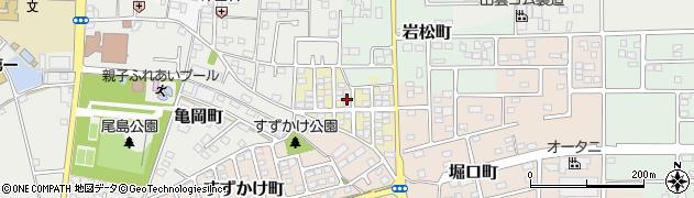 群馬県太田市太子町周辺の地図