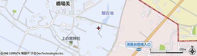 茨城県小美玉市橋場美周辺の地図