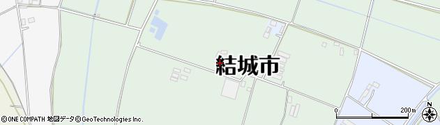 茨城県結城市上山川(丙)周辺の地図