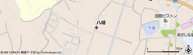長野県佐久市八幡周辺の地図