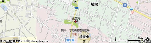 弘教寺周辺の地図