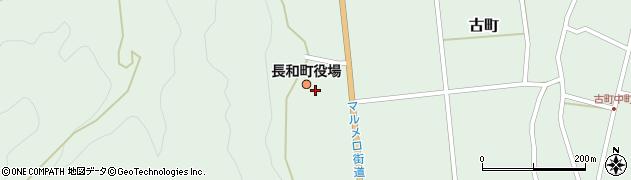 長野県小県郡長和町周辺の地図