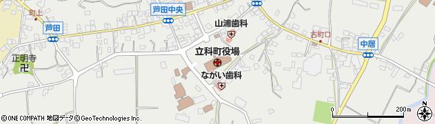 長野県立科町(北佐久郡)周辺の地図