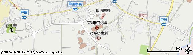 長野県北佐久郡立科町周辺の地図