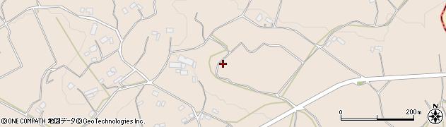 茨城県石岡市真家周辺の地図