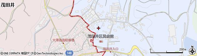 長野県佐久市茂田井周辺の地図