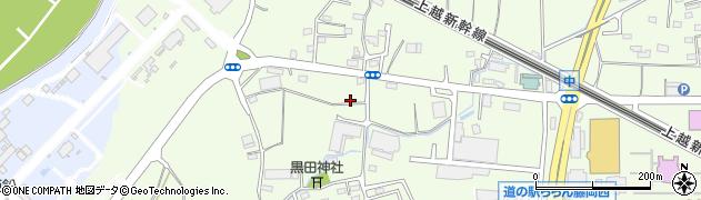 群馬県藤岡市中周辺の地図