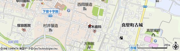 桜井精肉店周辺の地図
