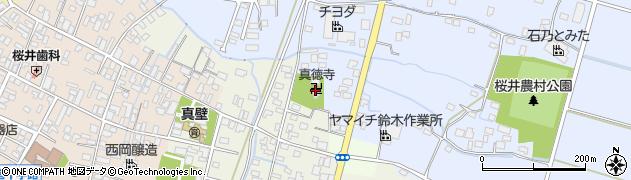 真徳寺周辺の地図