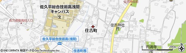 長野県佐久市岩村田(住吉町)周辺の地図