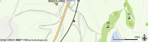 石川県加賀市熊坂町(シ)周辺の地図