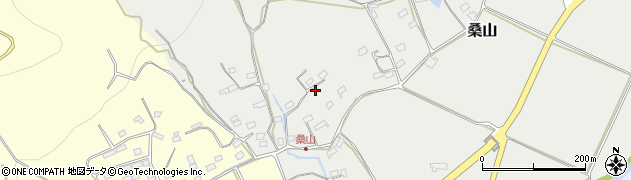 長野県佐久市桑山周辺の地図