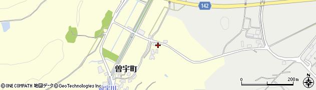 石川県加賀市曽宇町(ル丙)周辺の地図