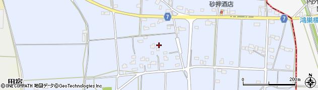 茨城県筑西市猫島周辺の地図