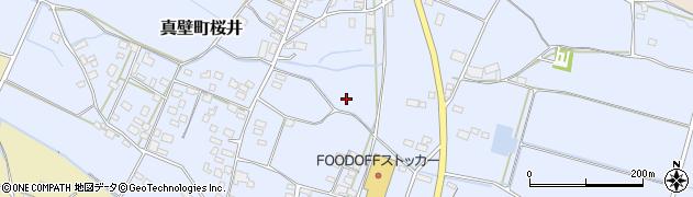 茨城県桜川市真壁町桜井周辺の地図