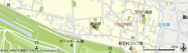 東栄寺周辺の地図