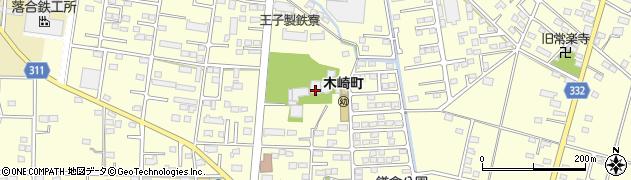 大通寺周辺の地図
