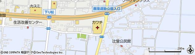 株式会社カワチ薬品 結城南店周辺の地図