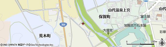 石川県加賀市河南町(リ)周辺の地図