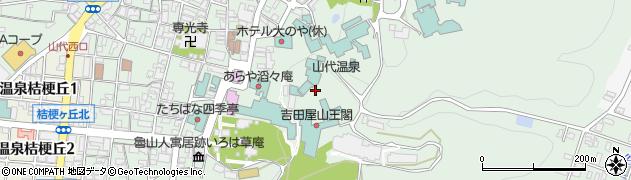 石川県加賀市山代温泉周辺の地図