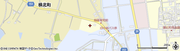 石川県加賀市横北町(ワ)周辺の地図