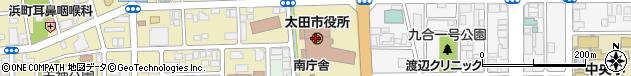 群馬県太田市周辺の地図