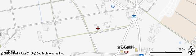 茨城県筑西市玉戸周辺の地図