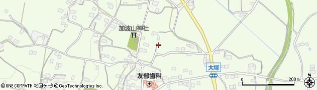 茨城県石岡市大塚周辺の地図