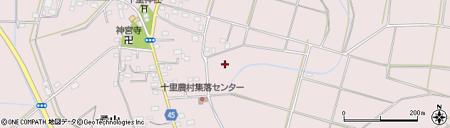 茨城県筑西市桑山周辺の地図