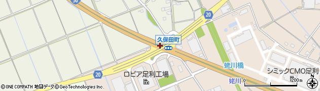 久保田町周辺の地図