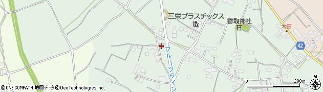 茨城県警察本部 石岡警察署恋瀬駐在所周辺の地図