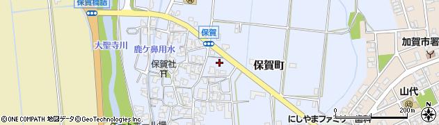 石川県加賀市保賀町(ヘ)周辺の地図