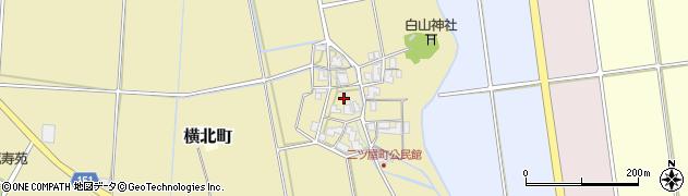 石川県加賀市二ツ屋町(タ)周辺の地図
